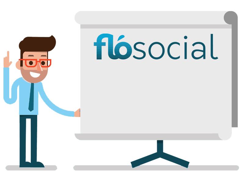 FloSocial Projector Screen