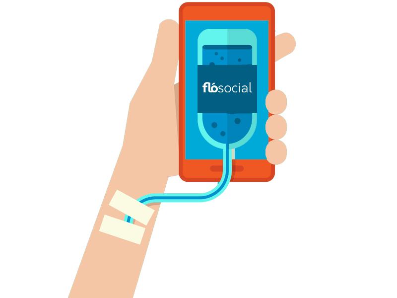 FloSocial Smartphone SocialMedia