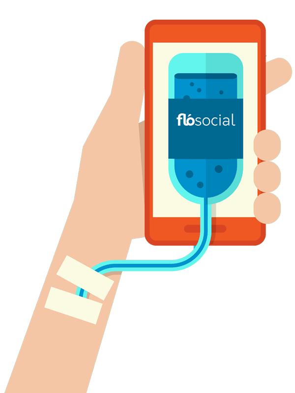 FloSocial Smartphone Social Media