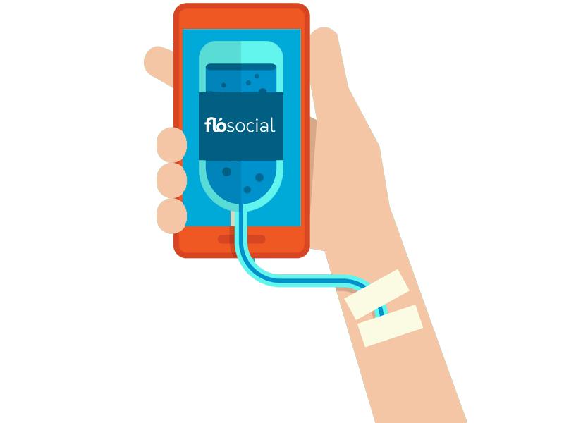 FloSocial Smartphone