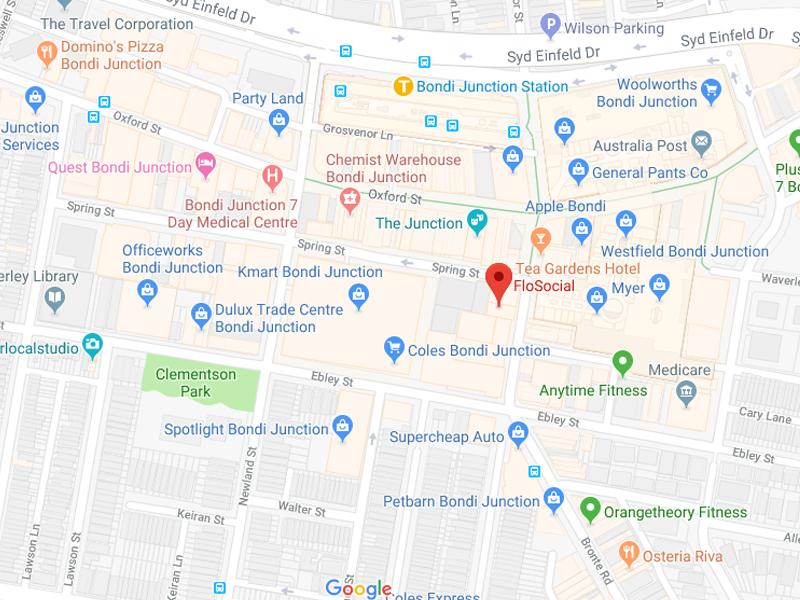 Contact FloSocial Map