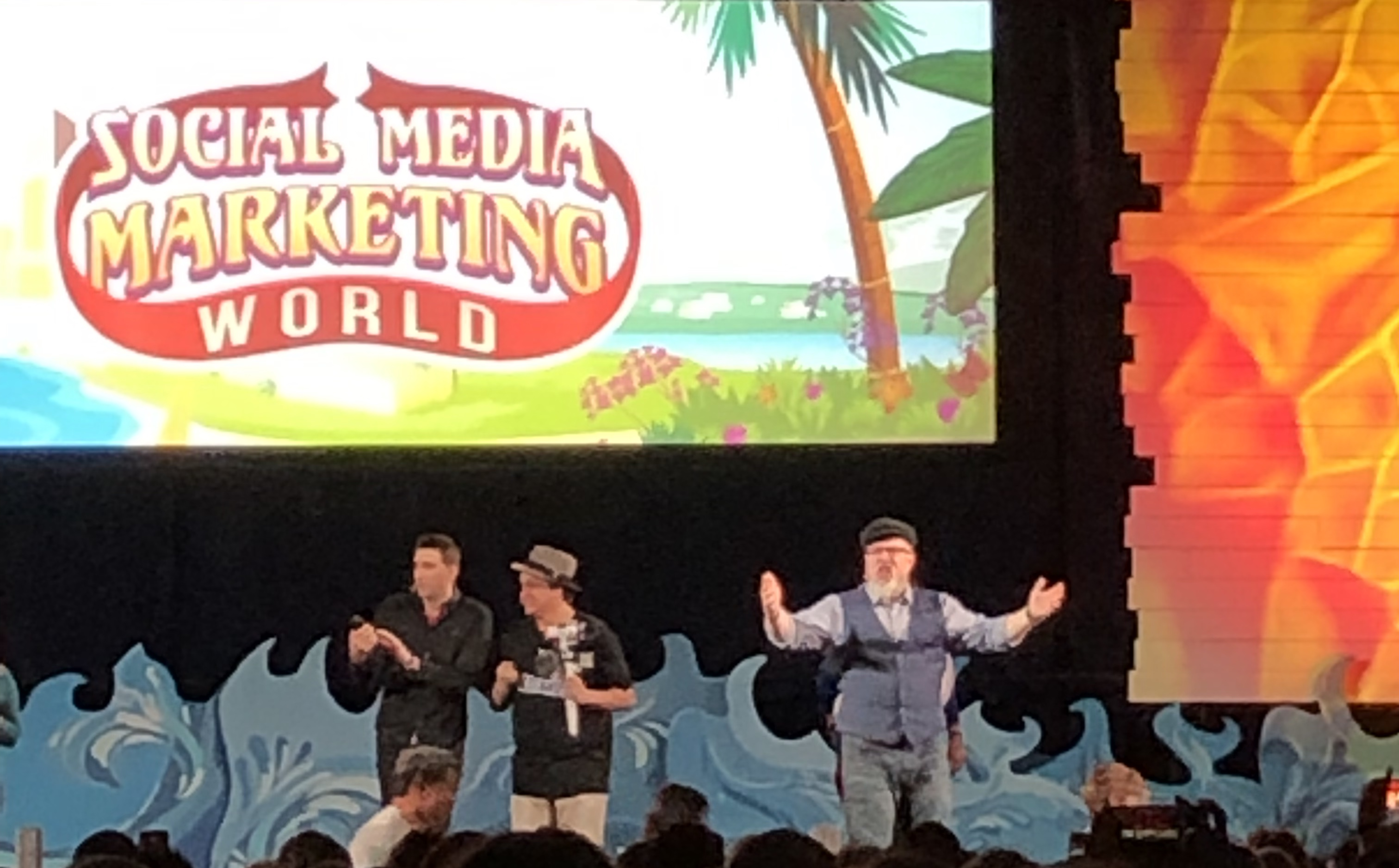 social media marketing world stage